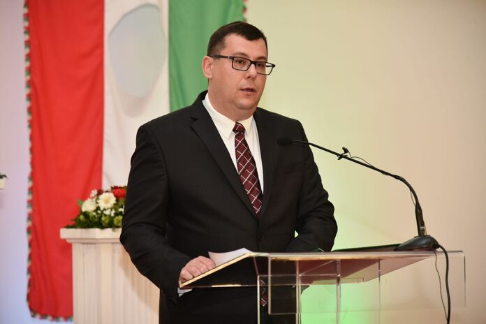 National day of Hungary Attila Pinter