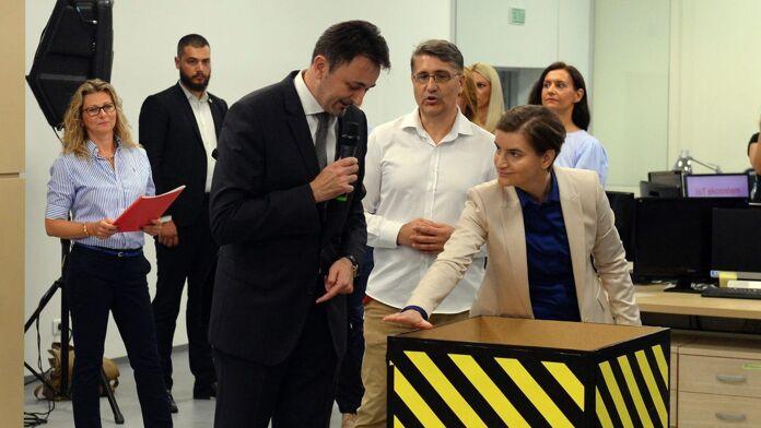 Telekom Platform For Protection Of Underground Installations Predrag Ćulibrk Ana Brnabic
