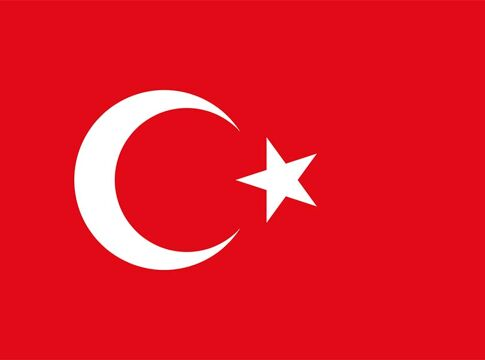 Turkey flag Turske