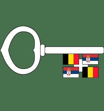Belgian-Serbian Business Association BSBA logo